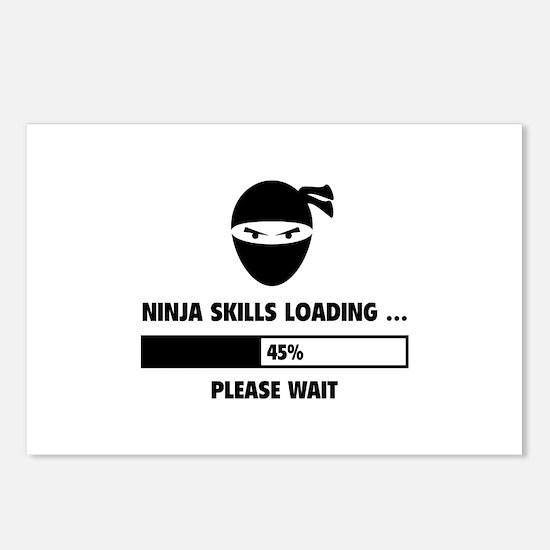 Ninja Skills Loading Postcards (Package of 8)