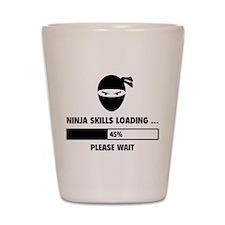 Ninja Skills Loading Shot Glass