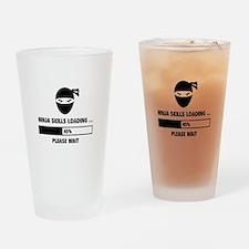 Ninja Skills Loading Drinking Glass
