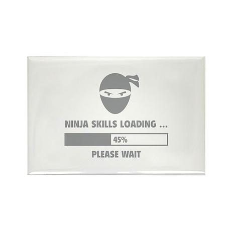 Ninja Skills Loading Rectangle Magnet (100 pack)