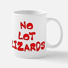 No Lot Lizards Mug