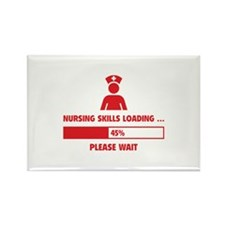 Nursing Skills Loading Rectangle Magnet (10 pack)