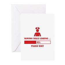 Nursing Skills Loading Greeting Cards (Pk of 20)