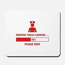 Nursing Skills Loading Mousepad