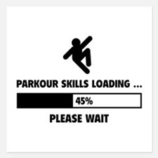 Parkour Skills Loading Invitations