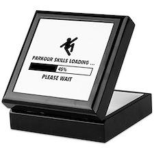Parkour Skills Loading Keepsake Box