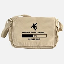 Parkour Skills Loading Messenger Bag