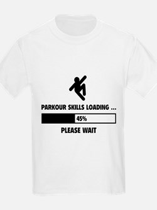 Parkour Skills Loading T-Shirt