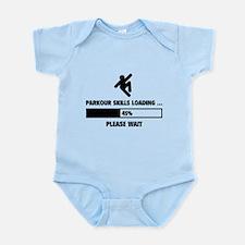 Parkour Skills Loading Infant Bodysuit