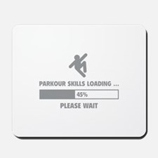 Parkour Skills Loading Mousepad