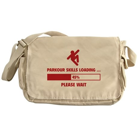 Parkour Skills Loading Messenger Bag
