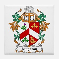 Kingston Coat of Arms Tile Coaster