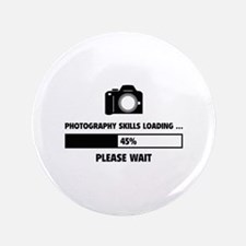 """Photography Skills Loading 3.5"""" Button (100 pack)"""