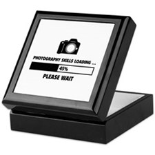 Photography Skills Loading Keepsake Box