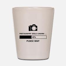 Photography Skills Loading Shot Glass