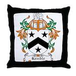 Kemble Coat of Arms Throw Pillow