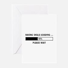 Racing Skills Loading Greeting Cards (Pk of 20)