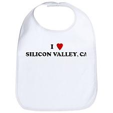 I Love SILICON VALLEY Bib