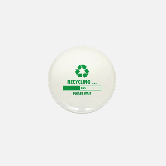 RECYCLING ... Mini Button (100 pack)