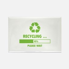 RECYCLING ... Rectangle Magnet