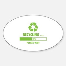 RECYCLING ... Decal