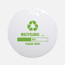 RECYCLING ... Ornament (Round)