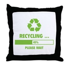 RECYCLING ... Throw Pillow