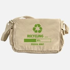 RECYCLING ... Messenger Bag