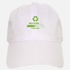 RECYCLING ... Baseball Baseball Cap