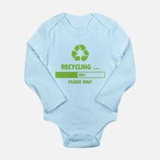 RECYCLING ... Long Sleeve Infant Bodysuit
