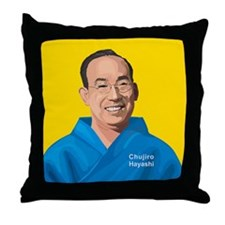 Chujiro Hayashi, Throw Pillow