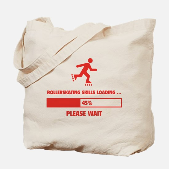 Rollerskating Skills Loading Tote Bag