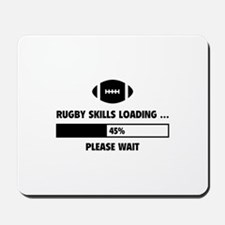 Rugby Skills Loading Mousepad