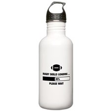 Rugby Skills Loading Water Bottle
