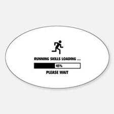 Running Skills Loading Sticker (Oval)