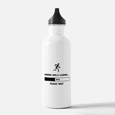 Running Skills Loading Water Bottle