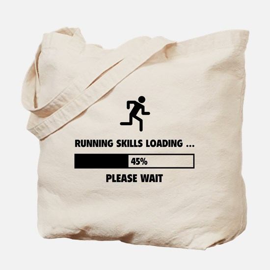 Running Skills Loading Tote Bag