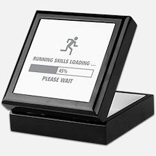 Running Skills Loading Keepsake Box