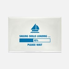 Sailing Skills Loading Rectangle Magnet