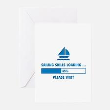 Sailing Skills Loading Greeting Cards (Pk of 20)