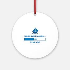 Sailing Skills Loading Ornament (Round)