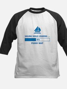 Sailing Skills Loading Kids Baseball Jersey