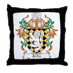 Jolly Coat of Arms Throw Pillow