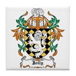 Jolly Coat of Arms Tile Coaster
