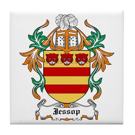 Jessop Coat of Arms Tile Coaster