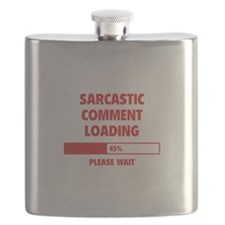 Sarcastic Comment Loading Flask