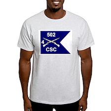 CSC 4/502nd Ash Grey T-Shirt