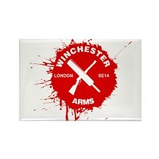 Winchester Arms Rectangle Magnet