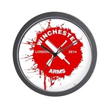 Winchester Arms Wall Clock
