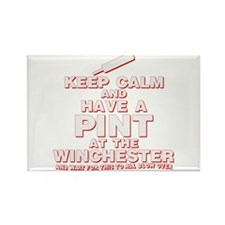 Keep Calm And Have A Pint Rectangle Magnet